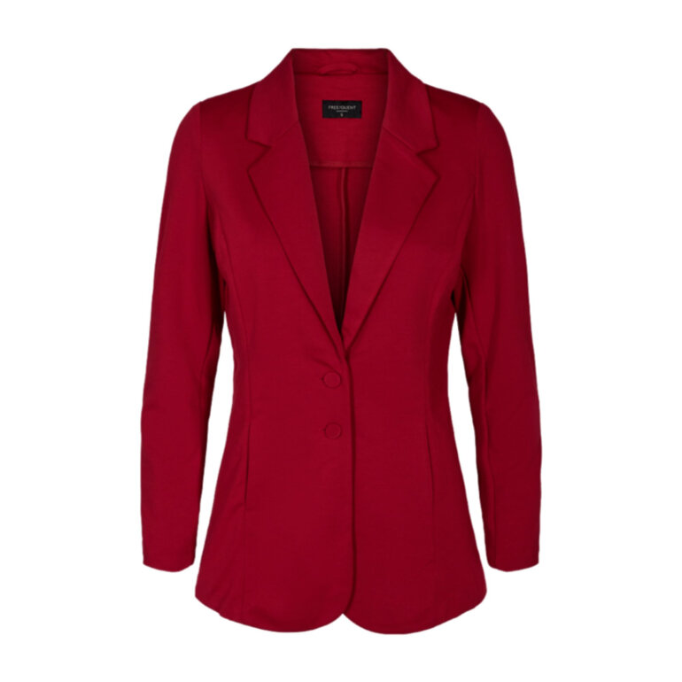Freequent Nanni Long Blazer Chili Pepper Foran