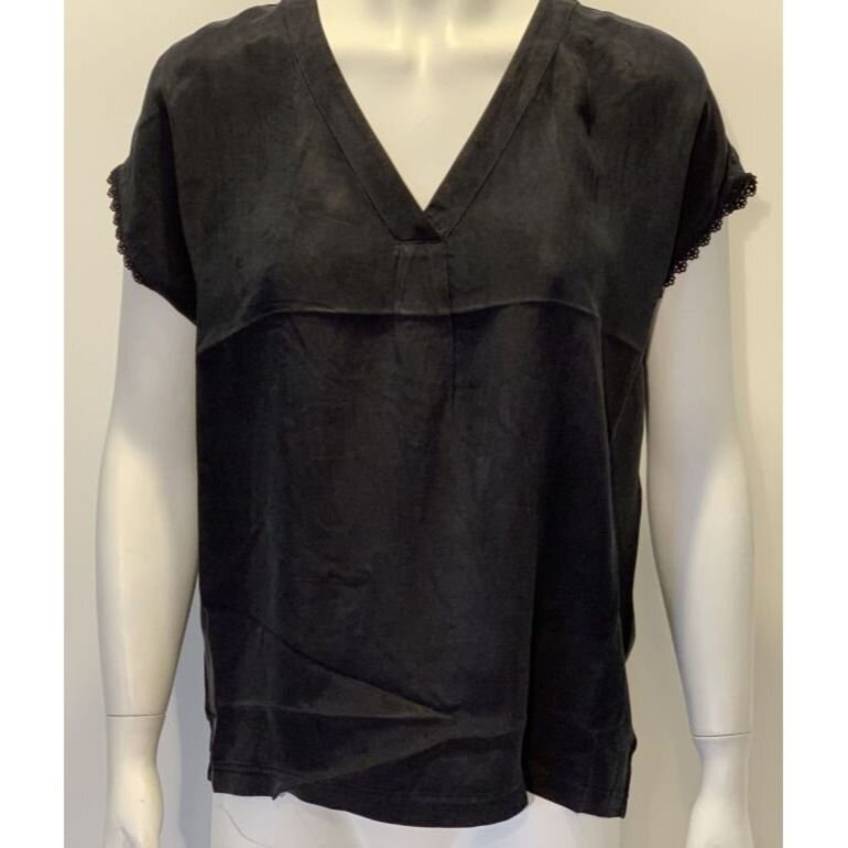 Culture Amy Blouse Black