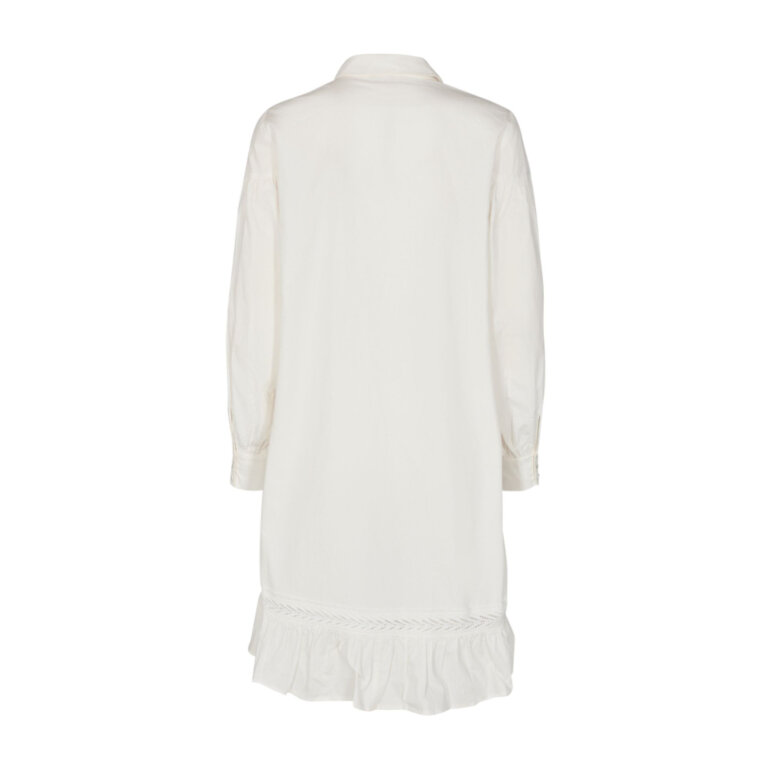 Freequent Rhian Shirt Dress Offwhite