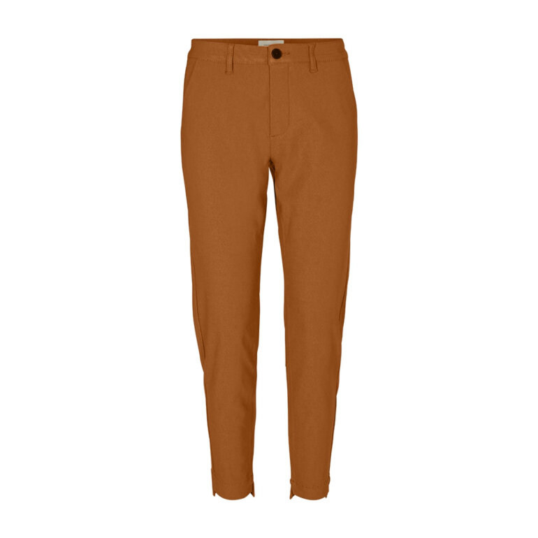 Freequent Rex Ankle Pants Caramel Cafe